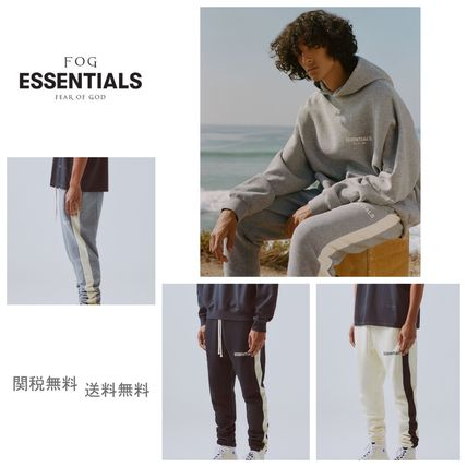 FEAR OF GOD パンツ 国内即発 [FOG] Fear Of God Essentials パンツ Side Stripe(18)