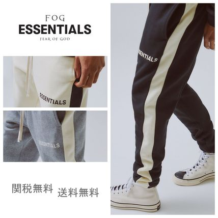 FEAR OF GOD パンツ 国内即発 [FOG] Fear Of God Essentials パンツ Side Stripe