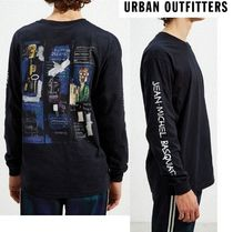 Urban Outfitters(アーバンアウトフィッターズ) Tシャツ・カットソー URBAN  OUTFITTERS ジャン・ミッシェル・バスキア ロングTシャツ