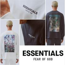 【FEAR OF GOD】Essentials Photo Series Long Sleeve T-Shirt