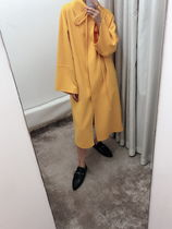 【LOEWE】2019/20AW新作 Oversize Coat (Yellow)