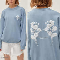 人気上昇中!UO☆BDG Love Is Forever Overdyed Sweatshirt