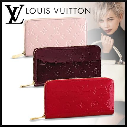 outlet store e28bd d5f96 【人気】LV(ルイヴィトン)ジッピー・ウォレット パテントレザー