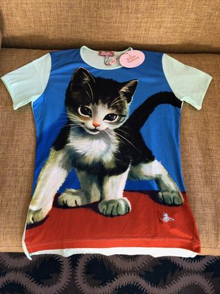 Vivienne Westwood Tシャツ・カットソー ☆希少☆Vivienne Westwood 子猫 キトゥン Tシャツ(8)