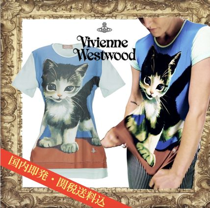 Vivienne Westwood Tシャツ・カットソー ☆希少☆Vivienne Westwood 子猫 キトゥン Tシャツ