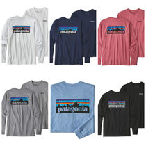【大人気!】Patagonia Long Sleeve P-6ロゴ Responsibili-Tee