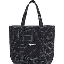 [国内即発] SUPREME GONZ MAP DENIM TOTE 即納