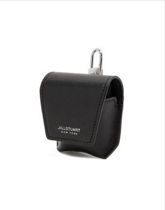JILLSTUART スマホケース・テックアクセサリー [JILLSTUART] Leather Logo Simple AirPods Case(5)