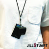 JILLSTUART スマホケース・テックアクセサリー [JILLSTUART] Leather Logo Simple AirPods Case(2)