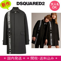 D SQUARED2(ディースクエアード) キッズアウター 新作 DSQUARED2 Kids★テーピングロゴコート 12~16Y 大人もOK