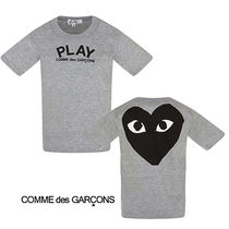COMME des GARCONS(コムデギャルソン) キッズ用トップス 2018S/S COMME des GARCONSS メランジュグレー Tシャツ
