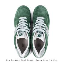 NEW BALANCE MID GREEN MADE IN USA グリーン
