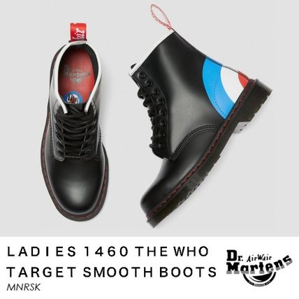 Dr Martens シューズ・サンダルその他 【注目】Dr.Martens・LADIES・1460 THE WHO TARGET SMOOTHブーツ