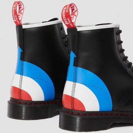 Dr Martens シューズ・サンダルその他 【注目】Dr.Martens・LADIES・1460 THE WHO TARGET SMOOTHブーツ(3)