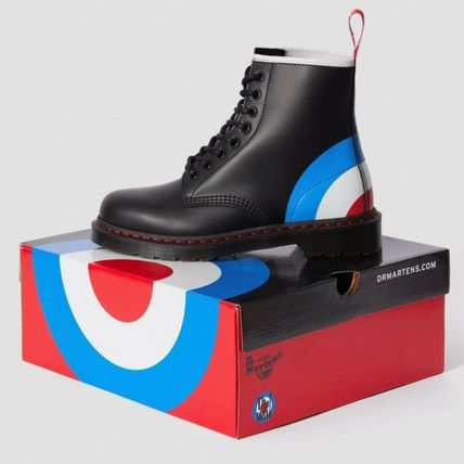 Dr Martens シューズ・サンダルその他 【注目】Dr.Martens・LADIES・1460 THE WHO TARGET SMOOTHブーツ(4)