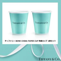 [Tiffany & Co.] Bone China Paper Cup 陶器カップ 2個セット