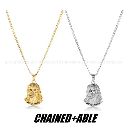 Chained & Able ネックレス・チョーカー 送料込☆Chained & Able*イエス*フラットチェーンネックレス*2色