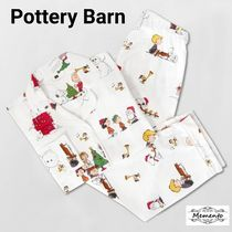 大人気!Pottery Barn☆Peanuts Flannel Pajama Set