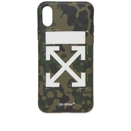 Off-White ライフスタイルその他 【話題】Off-White Arrow iPhone X Cover Camo