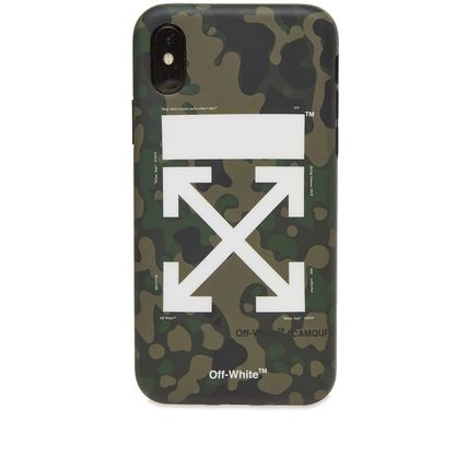 Off-White ライフスタイルその他 【話題】Off-White Arrow iPhone X Cover Camo(2)