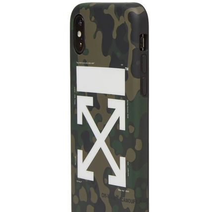 Off-White ライフスタイルその他 【話題】Off-White Arrow iPhone X Cover Camo(3)