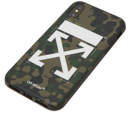 Off-White ライフスタイルその他 【話題】Off-White Arrow iPhone X Cover Camo(4)