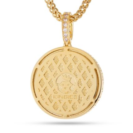King Ice ネックレス・チョーカー *KING ICE*The 14K Gold Fortune*コインネックレス(2)