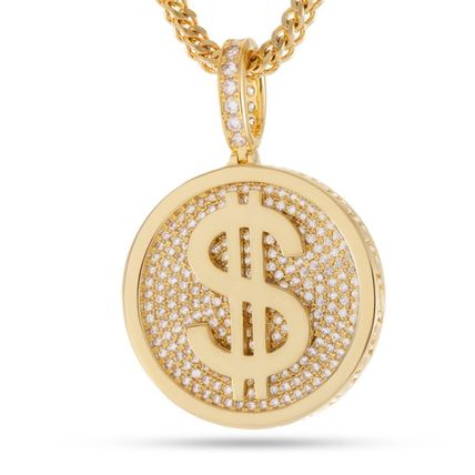 King Ice ネックレス・チョーカー *KING ICE*The 14K Gold Fortune*コインネックレス(3)