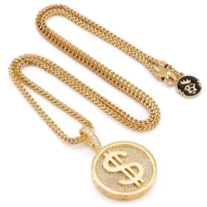 King Ice ネックレス・チョーカー *KING ICE*The 14K Gold Fortune*コインネックレス(4)