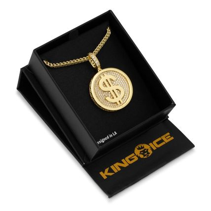 King Ice ネックレス・チョーカー *KING ICE*The 14K Gold Fortune*コインネックレス(5)