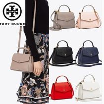 Tory Burch★ROBINSON SMALL TOP-HANDLE SATCHEL 2WAYサッチェル