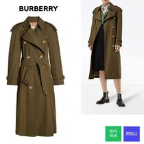 Burberry☆WESTMINSTER LONG COTTON TRENCH☆国内発送