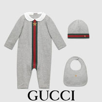 GUCCI Baby Web print three-piece gift set ベビーギフトセット