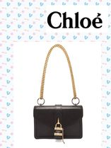 Chloe/Aby チェーン レザーバッグ