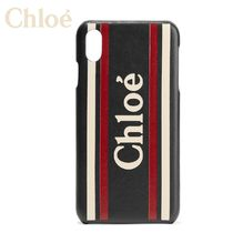 ∞∞ CHLOE ∞∞ Vick textured-leather iPhone X / XS ケース☆