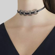 ★今だけ限定価格★ MARC JACOBS/ 本革 LACY MEDALLION CHOKER
