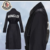19AW Monclerモンクレール★CHARENTE ビッグロゴ トレンチコート