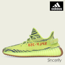 B37572 YEEZY BOOST 350 V2 SEMI FROZEN YELLOW / 9.0