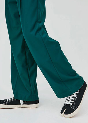 OPEN THE DOOR パンツ OPEN THE DOOR●韓国BRAND●MINI WRAP WIDE SLACKS (4色)(3SIZE)(7)