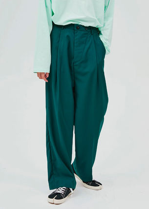 OPEN THE DOOR パンツ OPEN THE DOOR●韓国BRAND●MINI WRAP WIDE SLACKS (4色)(3SIZE)(8)