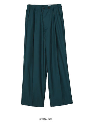 OPEN THE DOOR パンツ OPEN THE DOOR●韓国BRAND●MINI WRAP WIDE SLACKS (4色)(3SIZE)(10)