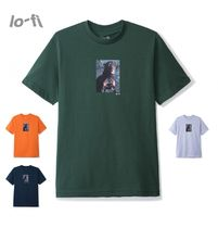 新入荷 !! Lo-Fi Aggression Tee / Green・Orange・Navy・Grey