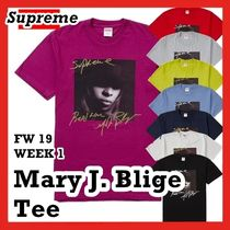 Supreme Mary J. Blige Tee AW 19 FW 19 WEEK 1