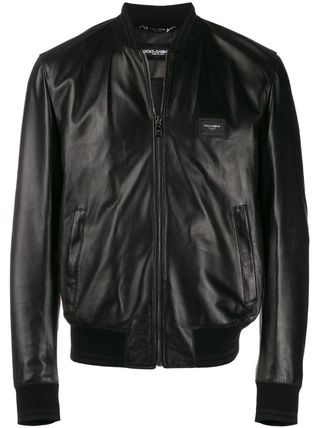 Dolce & Gabbana レザージャケット 【DOLCE & GABBANA】Leather Jacket