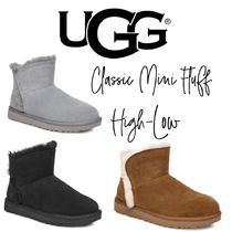 【UGG】CLASSIC MINI FLUFF HIGH-LOW もこもこ ショートブーツ★