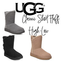 【UGG】CLASSIC SHORT FLUFF HIGH-LOW もこもこ ショートブーツ