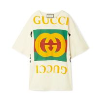 ∞∞ GUCCI ∞∞ Oversize Tシャツ with Gucci ロゴ☆