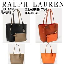 【Ralph Lauren】●リバーシブル●Reversible Faux Leather Tote