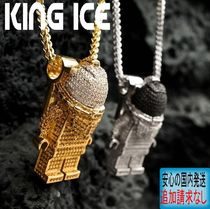 LA発ストリート☆King Ice☆HipHopペンダントThe Spaceman