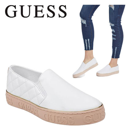 Guess スニーカー 【GUESS】★大人気★GLADIS LOGO SLIP-ON SNEAKERS